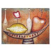 Постер в раме «Сочные фрукты», 40х30 см Smiles