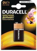 Батарея Duracell 6LR61-1BL Basic 9V 1шт