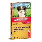 Капли для собак BAYER ADVANTIX от блох, клещей