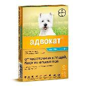 Капли для собак BAYER ADVOCATE 100 от паразитов