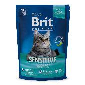 Корм для кошек Brit Premium Cat Sensitive