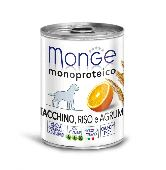 Корм для собак Monge Dog Monoproteico Fruits