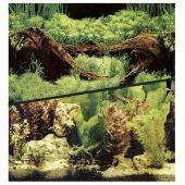 Фон для аквариума HAGEN двухсторонний растительный/растительный 45см (цена за 10см)
