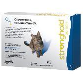 Капли для кошек Zoetis Stronghold 2,6-7,5кг