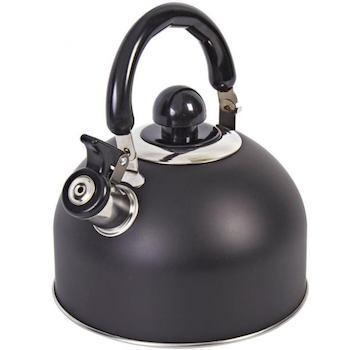 Чайник на плиту Mallony Elegante, цвет чёрный, код 4690408137413