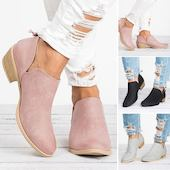 Женские туфли Закрытый мыс на устойчивым