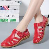 Женские туфли На липучке Обуви на плоской