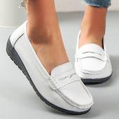 Женские обуви на плоской подошве на плоским