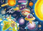 Пазл DODO Космос R300141, размер 18.5/28/7