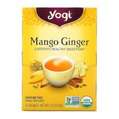 Yogi Tea манго и имбирь, без кофеина, 16
