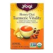 Yogi Tea Turmeric Vitality, Honey Chai, 16