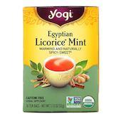 Yogi Tea Египетская лакрица и мята, без кофеина