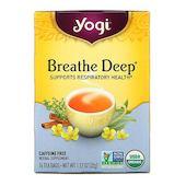 Yogi Tea Breathe Deep, Caffeine Free, 16