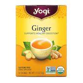 Yogi Tea Organic Ginger, 16 Tea Bags, 1.12