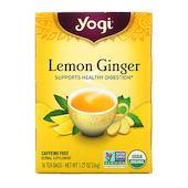 Yogi Tea лимон и имбирь, без кофеина, 16