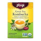 Yogi Tea Green Tea Kombucha, 16 Tea Bags