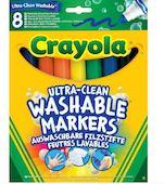 Фломастеры Супер чисто Crayola 8 шт 996814852