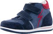 Ботинки Котофей на липучке, синий Mothercare