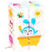 "Игрушка кубики ""Малышарики: Мультики"" Мякиши"