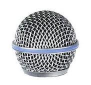 Сетка защитная посеребренная для микрофона