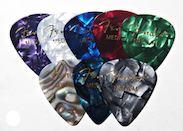Медиаторы 351 FENDER, цвет разноцветные в