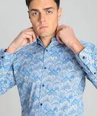 Рубашка из хлопка с принтом Paisley O`Stin