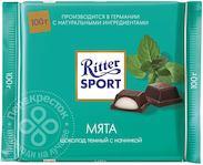 Шоколад Ritter Sport Темный Мята 100г Alfred