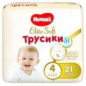 Подгузники-трусики Huggies Elite Soft №4