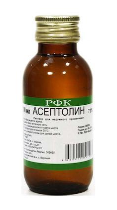 Асептолин р-р д/наруж.прим. 70% 100мл Фармацевтический