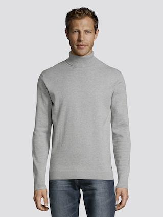 Пуловер Tom Tailor, цвет серый, размер XL