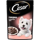 Корм для собак Cesar Говядина в сливочном