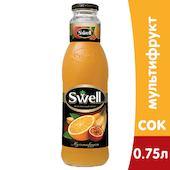 Сок Swell / Свелл Мультифрукт 0,75л  (6шт