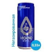 Вода Легенда Байкала 0.33 литра, без газа