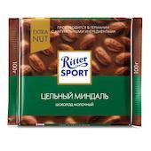 Шоколад Ritter Sport молочный с цельным миндалем