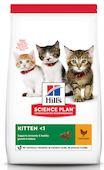 Сухой корм для котят Hills Science Plan Healthy